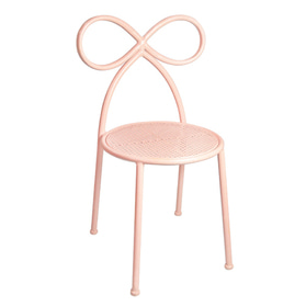 20% Bow Chair Blush Pink