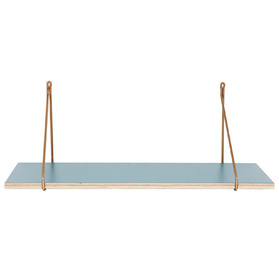 Shelf W. Iron Hanger Petrol Blue