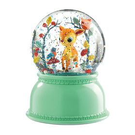 Fawn Snow Globe nightlight
