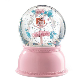 Ballerina Snow Globe nightlight