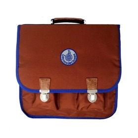 (M) Cartable Vintage Red Rainbow